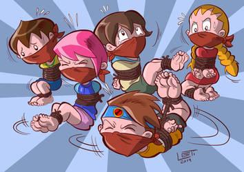 Art Trade: Megaman NT Warriors by SnooopTina
