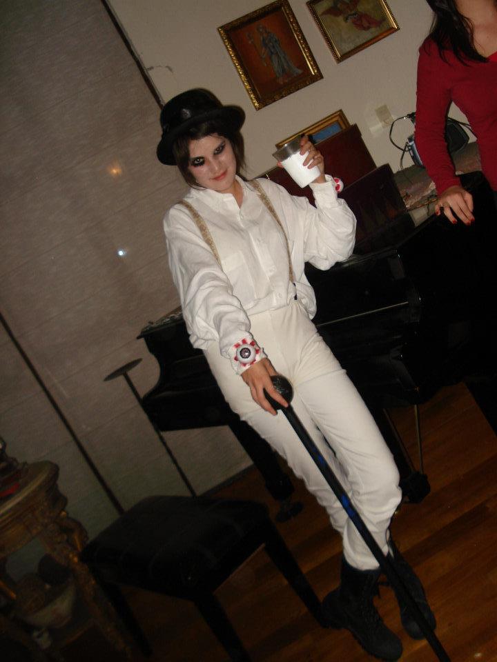 Alex Delarge costume by GloomRubyTuesday