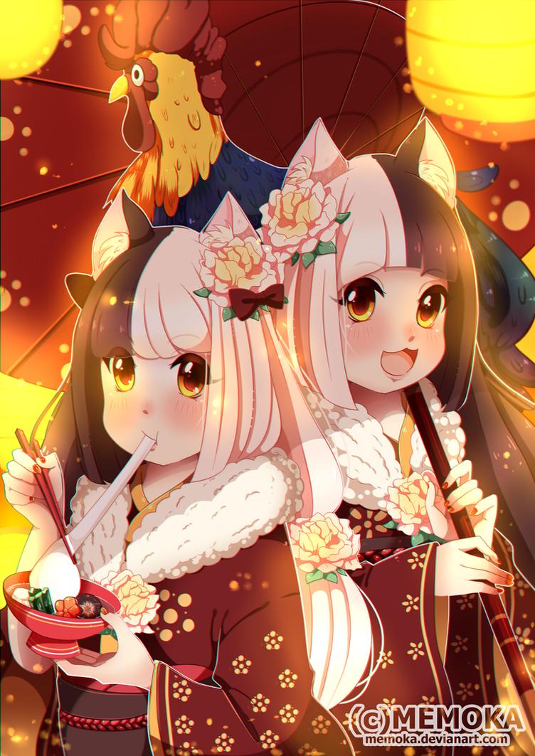 New Year(?) by Memoka