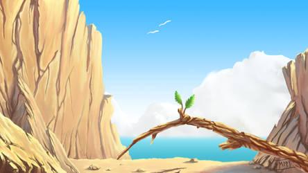 Sun and Sea and Rocks