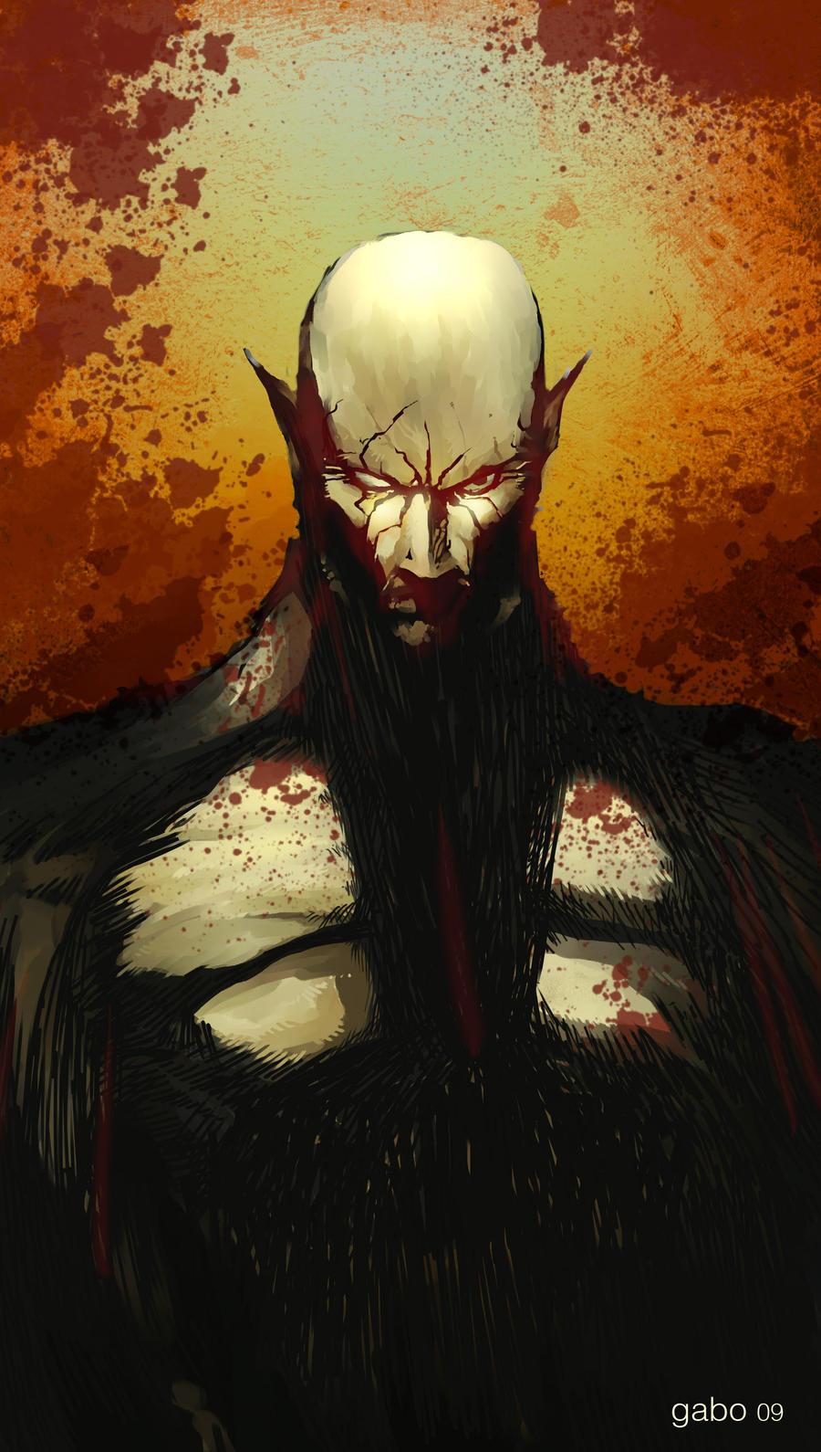 wampiro guapo by gabos