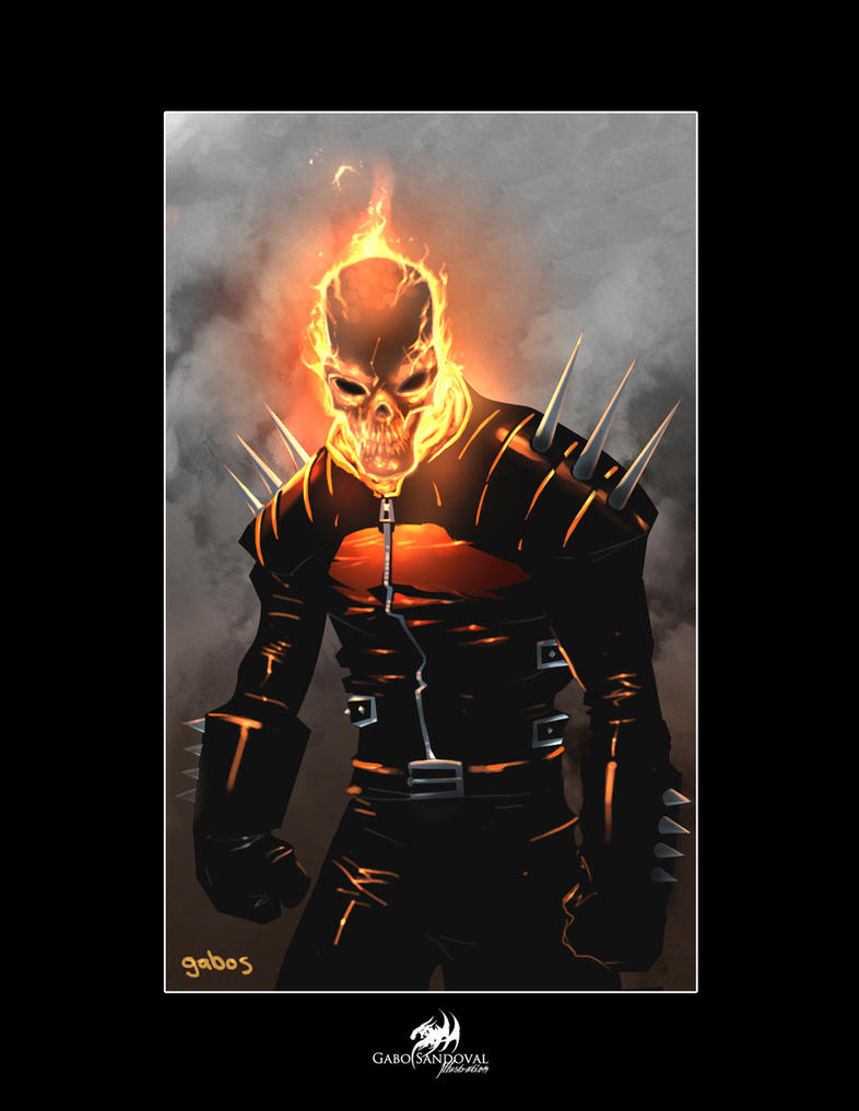 Marvel 2175 - Page 2 Ghost_rider_by_gabos-d373z43