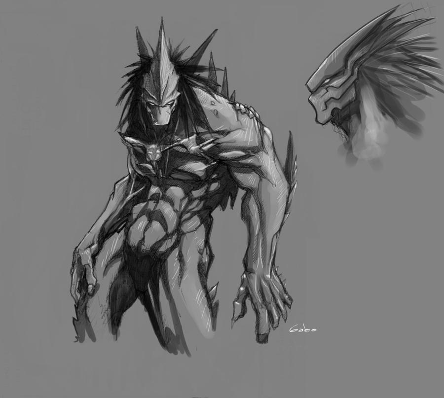 hueso sketch by gabos