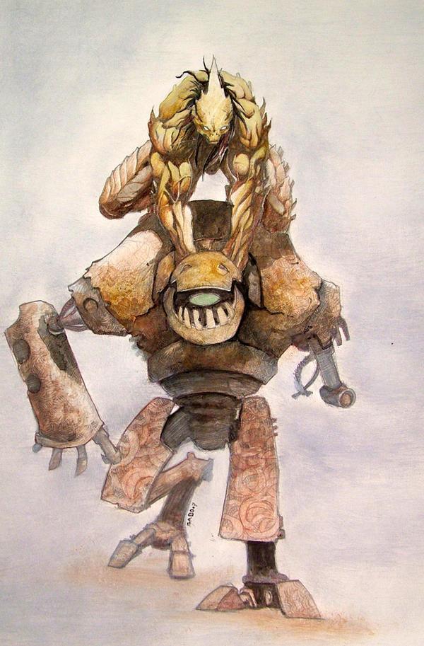 el Golem y hueso cover by gabos