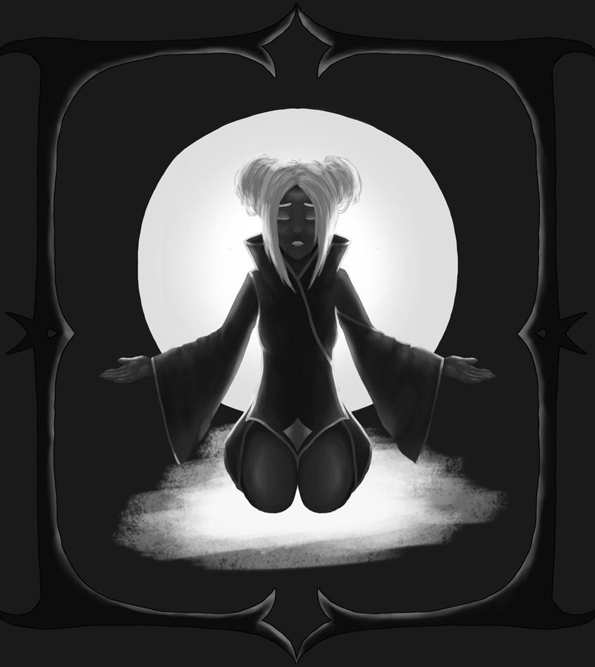 Dear God [Greyscale] by Shiyatsu
