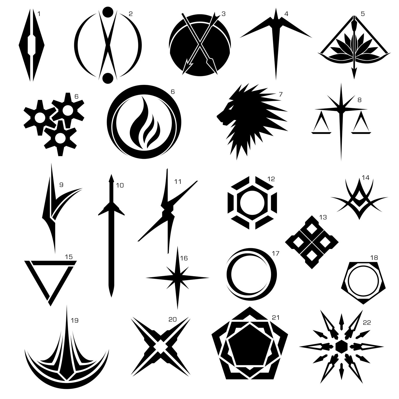 Прикольные картинки символы знаки