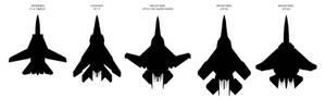 Berserker Aircraft Size Comparison Chart Thingy