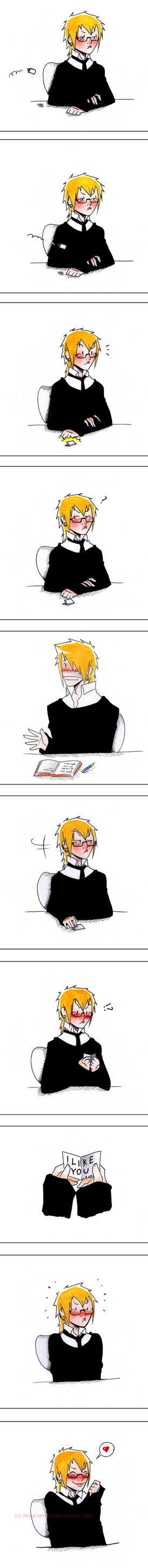 :I like you: by Akita-sensei