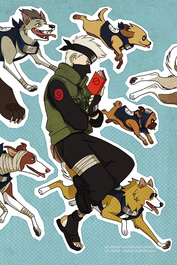 dog ninjas by Akita-sensei