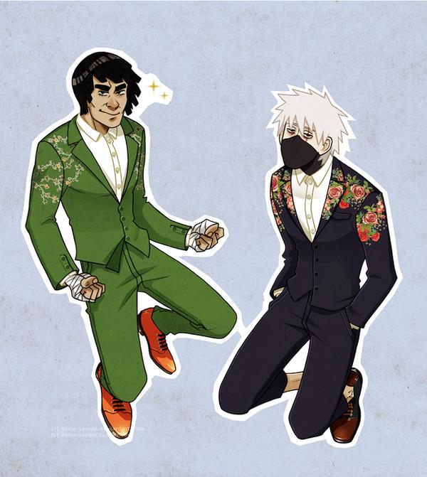 flower suits by Akita-sensei