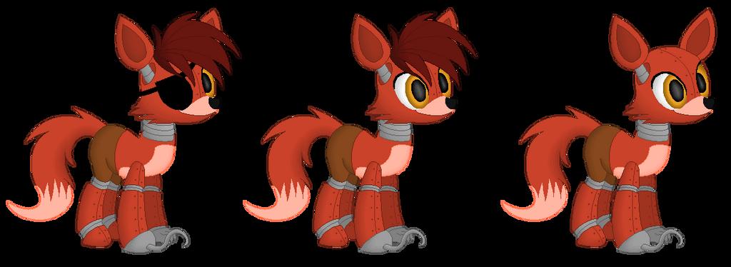 Foxy MLP (FNAF 1) by CreepypastaWolfie on DeviantArt