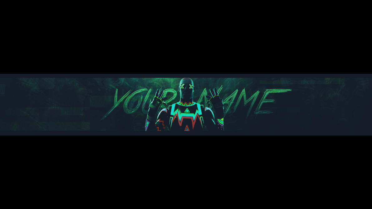 Free Fortnite Channel Art Banner No Text Youtube Youtube Banner