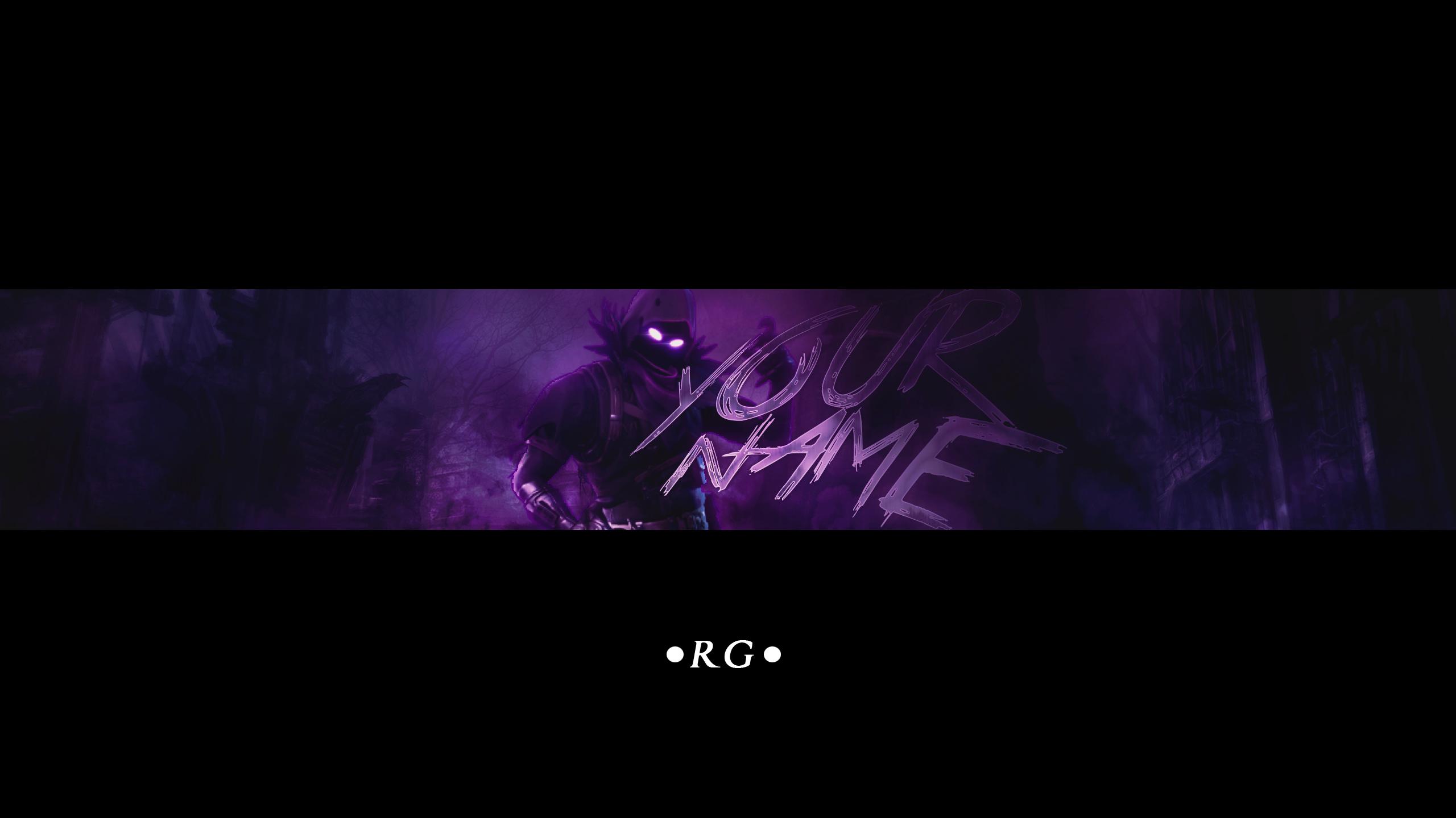Free Epic Raven Youtube Banner I Fortnite By Aronrege On Deviantart
