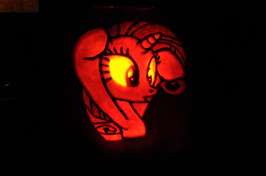 Pinkie Pie Pumpkin Stencil Rarity Pumpkin by archiveit1