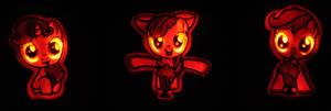 Cutie Mark Crusaders Pumpkins