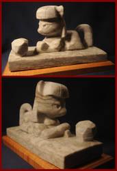 Maud Pie in Alabaster Stone by archiveit1