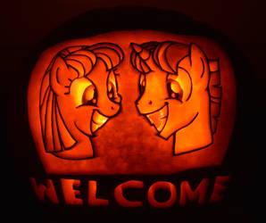 Welcome Pumpkin by archiveit1