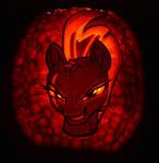 Tempest Shadow Pumpkin