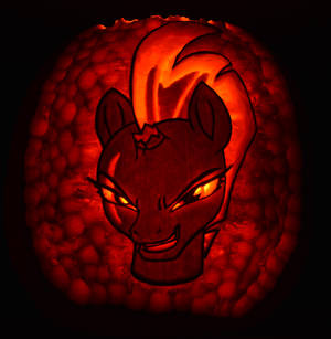 Tempest Shadow Pumpkin