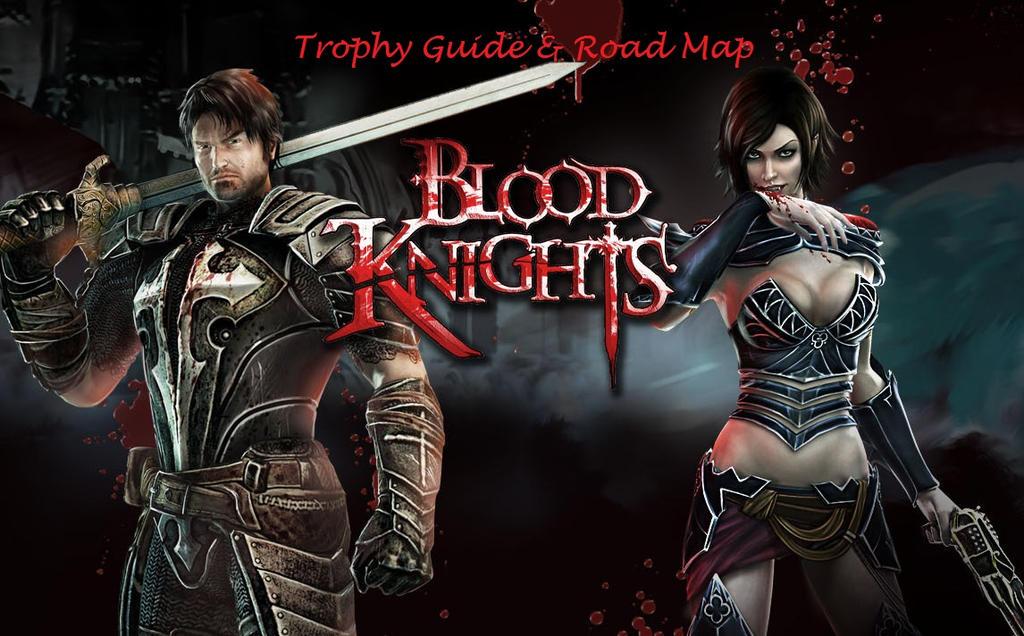 blood knights banner by RuinedAnubis