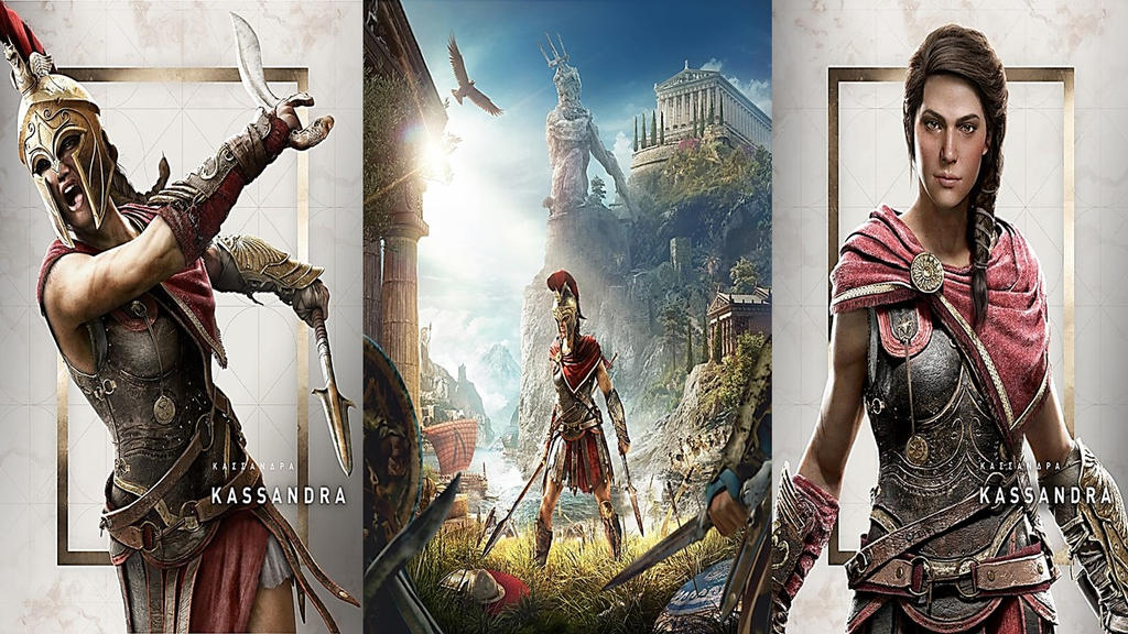 Assassin S Creed Odyssey Kassandra Wallpaper By Skiangel On Deviantart