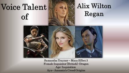 Alix Wilton Regan
