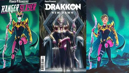 Power Ranger:Drakkon New Dawn Comic Wallpaper