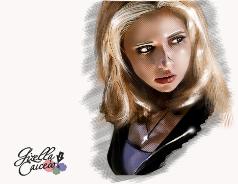 Buffy Summers by EdnaCaicedo
