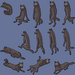 (FREE) furcadia werewolf walkabout by DidTheSqd