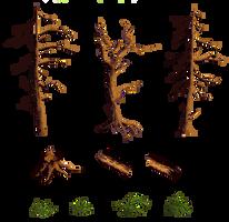 deez treez are free(z)! by SqdPxl