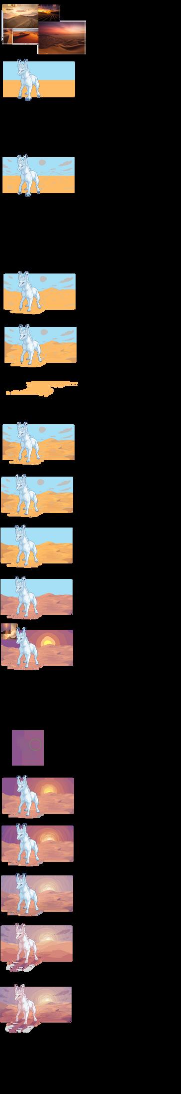 Pixel background tutorial by DidTheSqd