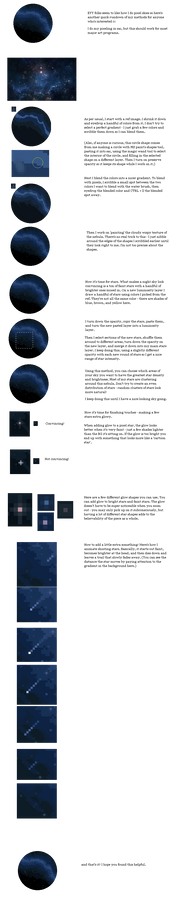 PIXEL + ANIMATION TUTORIAL: night sky