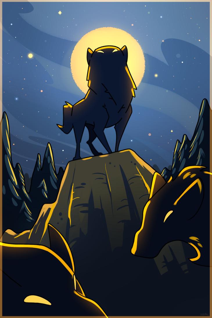 hunter's moon by SqdPxl