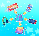 (FREE) cute inventory by SqdPxl