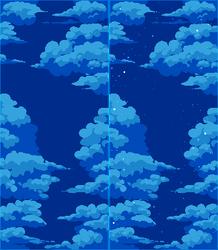 (FREE) pixel skyscape