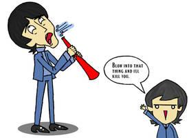 George's Vuvuzela by julie090995