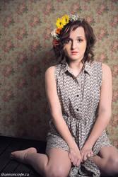 Flowers in her Hair III by Erenne