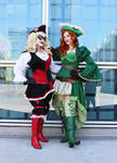Pirate Harley and Ivy