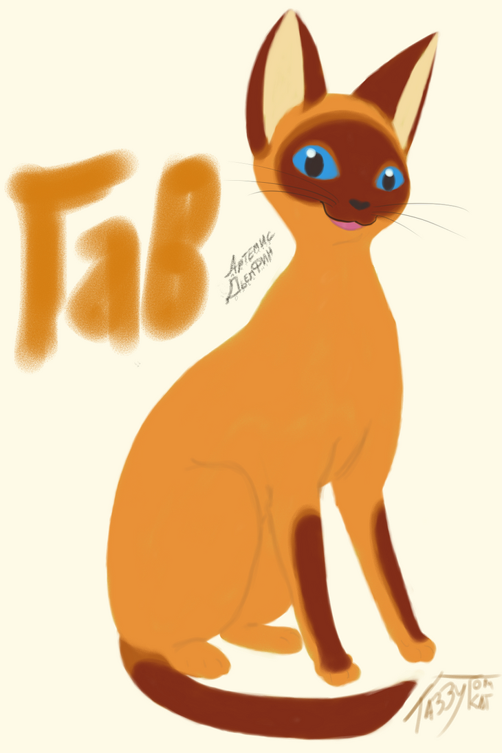 Full Grown Cat named WOOF? by tabbytomkat