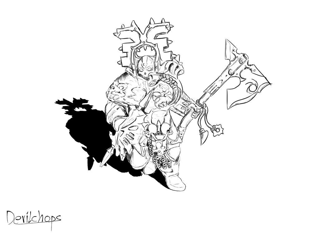 Blood Warrior by Devilchops