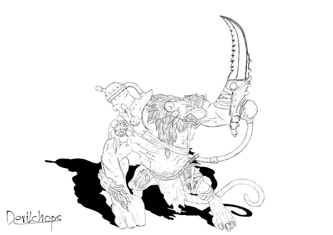 Rat Ogre by Devilchops