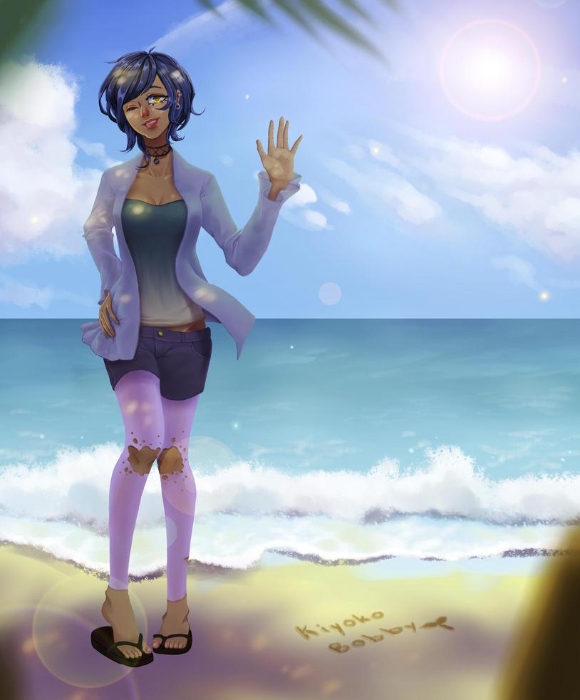 [OC AT] Fade on the beach by KiyokoBobby