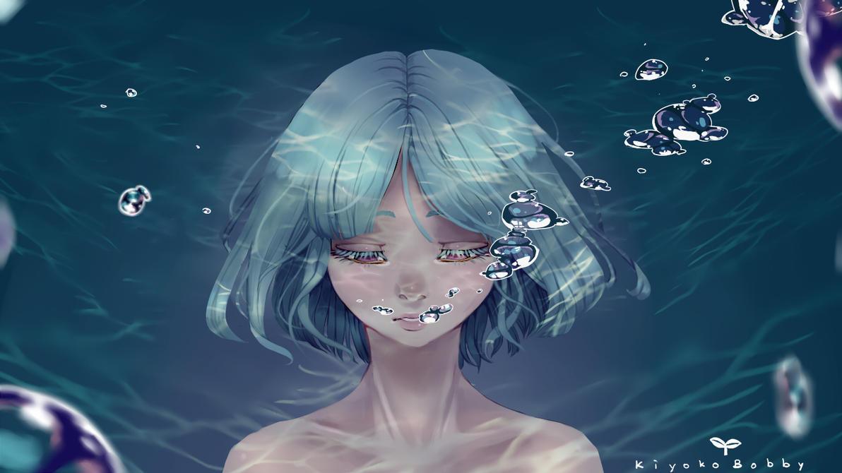 Drowning by KiyokoBobby