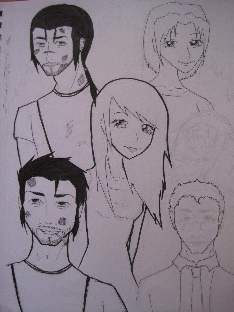 Fahrenheit 451 Character Page by MyChemicalMinion on DeviantArt