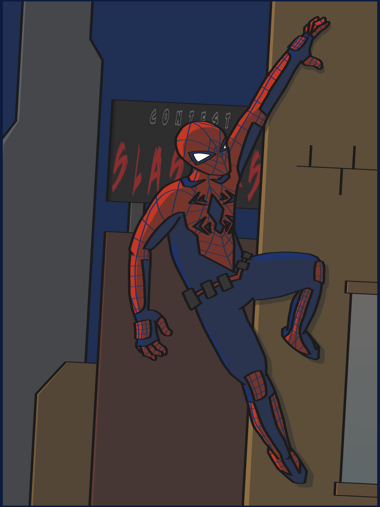 Contest of Slashers Spidey by SketchingGames