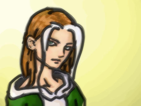 My first coloured rogue by Serchlemba