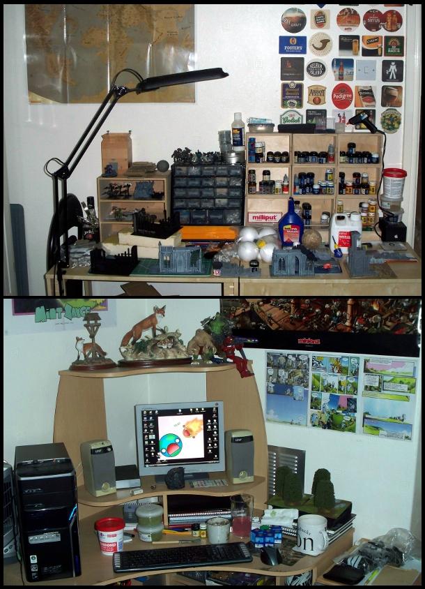 Desktop Work Area v3.0 by Lauinav