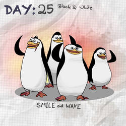 Day25 Black and white by Binidi