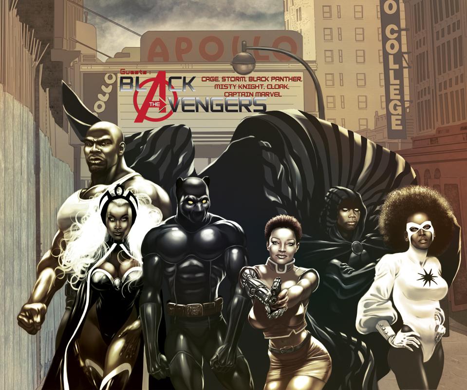 Black Avengers 2 by Franck25