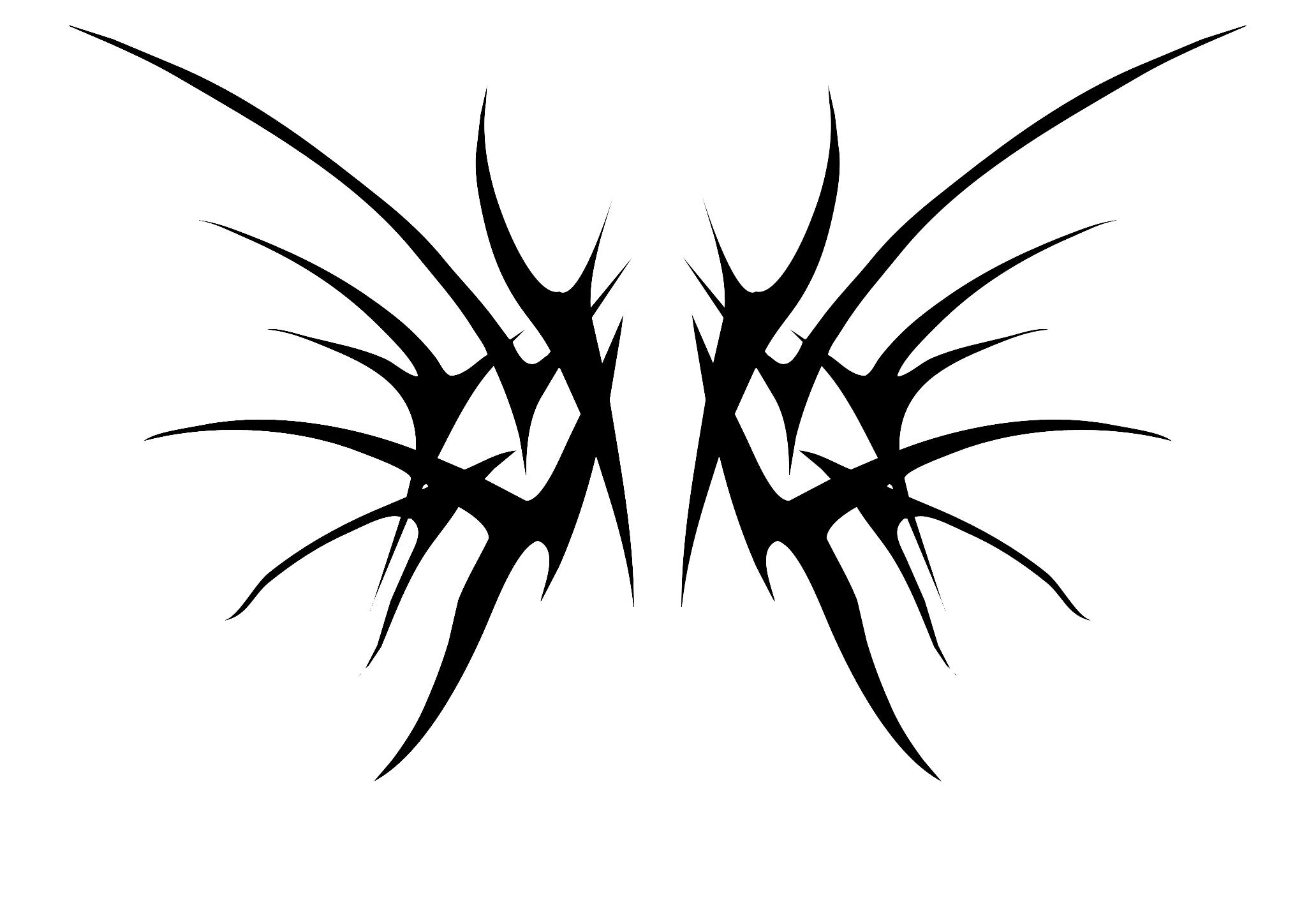 tribal Wings by DarkExiled on DeviantArt